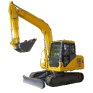5 ton diggers for hire